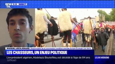"""Le responsable de la commission condition animale d'EELV estime que les chasses traditionnelles """"s'attaquent à des espèces en mauvais état de conservation en France"""""""