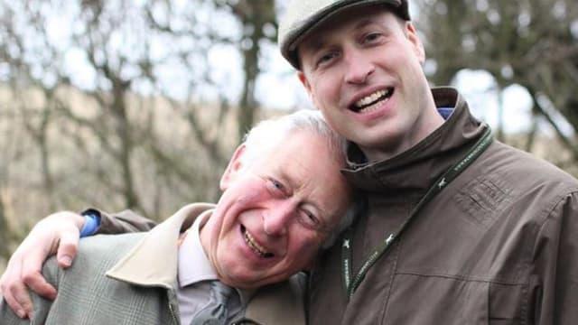 Le prince Charles et le prince William réunis sur une photo Instagram