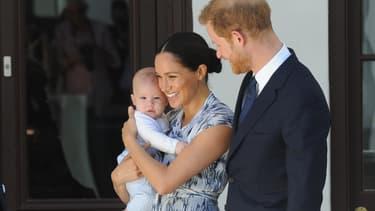 Meghan, Harry et leur bébé Archie