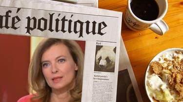 """Valérie Trierweiler s'est livrée pendant près d'une heure sur le plateau de """"C à vous"""", jeudi, sur France 5."""
