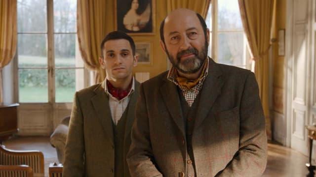 Kad Merad et Malik Bentalha dans Le Doudou