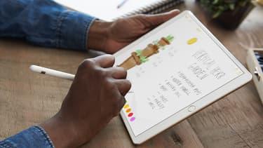 Apple sort une tablette à écran plus large que l'iPad grand public, propre à séduire les professionnels.
