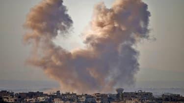 Les frappes du régime syrien le 28 juin 2018 sur la ville de Deraa ont fait 22 morts selon l'OSDH