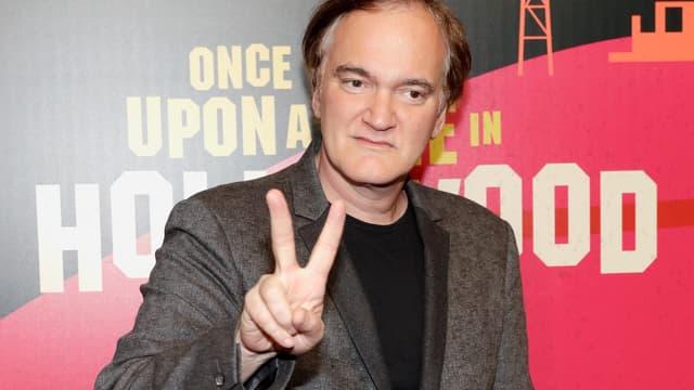 Quentin Tarantino en avril 2018