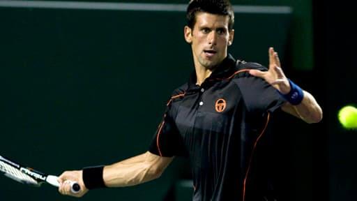 Novak Djokovic en mars 2011