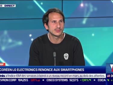 L'adieu de LG Electronics aux smartphones, l'explosion du téléchargements d'applications,... Le débrief de l'actu tech du lundi - 05/04