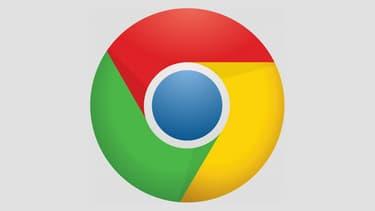 Le logo du navigateur Chrome.