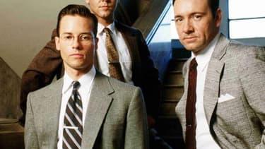 """Guy Pearce et Kevin Spacey dans """"L. A. Confidential""""."""