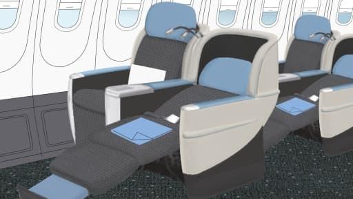 Le Boeing 757 est équipé de 74 sièges proposant des prestations haut de gamme mais à prix modérés.