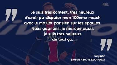 """PSG - Montpellier : Neymar est """"heureux"""" pour sa 100e avec Paris"""