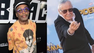 Spike Lee et Stan Lee
