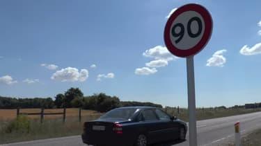 Une portion de route anciennement limitée à 80 km/h au Danemark