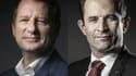 Yannick Jadot et Benoît Hamon sont parvenus à un accord en vue de la présidentielle.