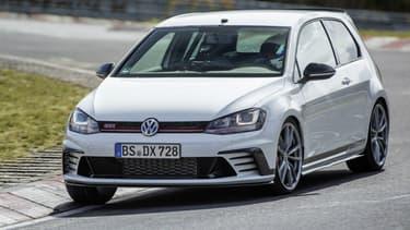 La GTI Clubsport S a établi le nouveau record des Golf sur le Nürburgring.