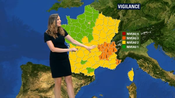 Vigilance orange mercredi.
