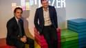 Alexis de Gemini (à gauche) était l'invité de BFM Business vendredi 22 juillet.