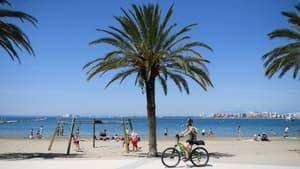 La plage de Roses, en Espagne, le 21 juin 2020