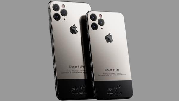 "iPhone 11 Pro version ""Steve Jobs"""