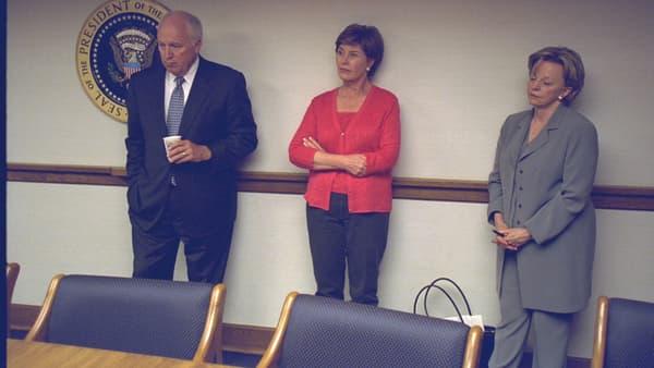 Dick Cheney, Laura Bush et Lynne Cheney
