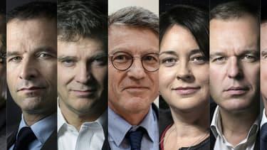 Les sept candidats à la primaire à gauche s'affronteront dans les urnes le 22 janvier.
