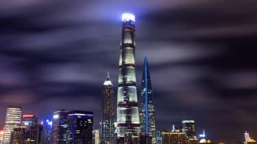 La tour Shanghai culmine à 632 mètres