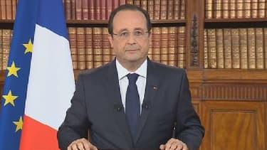 François Hollande s'est exprimé à la télévision, lundi 26 mai.
