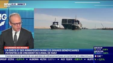 Benaouda Abdeddaïm : La Grèce et ses armateurs parmi les grands bénéficiaires potentiels de l'incident du canal de Suez - 31/03