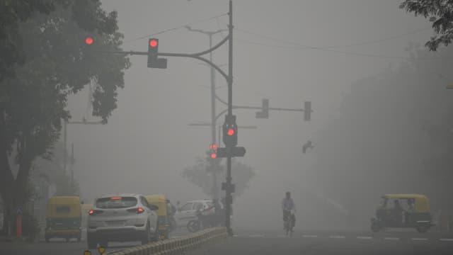 La capitale indienne étouffe sous la pollution, le 3 novembre 2019