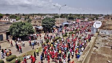 Manifestation au Togo le 5 octobre 2017