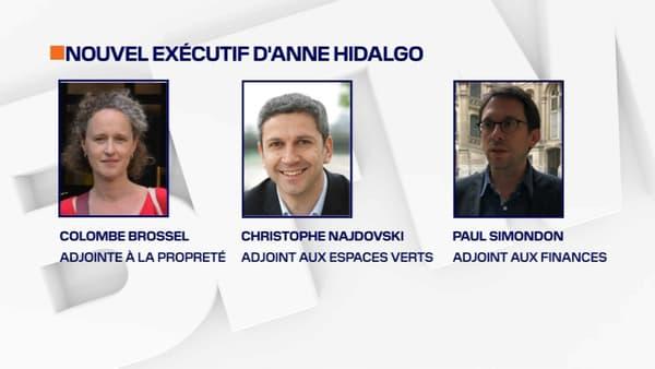 Colombe Brossel, Christophe Najdovski, Paul Simondon