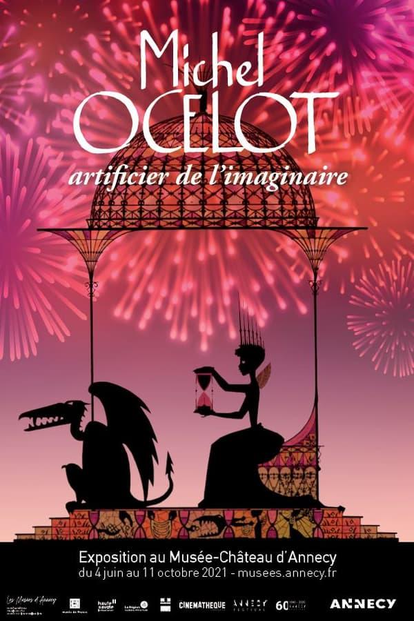 Affiche de l'exposition consacrée au réalisateur Michel Ocelot