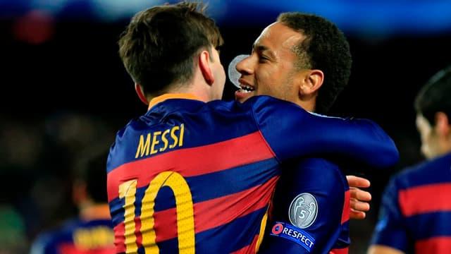 Lionel Messi, Cristiano Ronaldo et Neymar