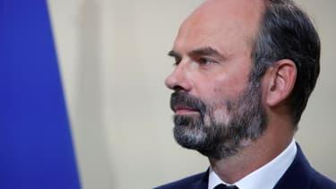 Edouard Philippe lors de l'annonce de ses mesures concernant l'immigration.