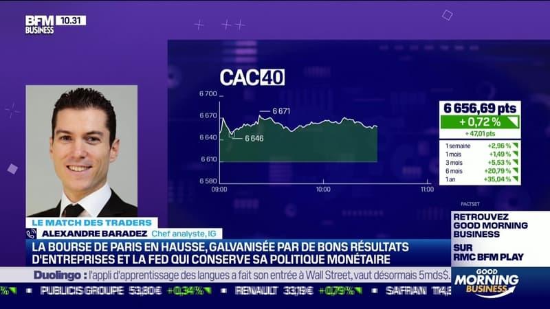 Le Match des traders: Alexandre Baradez vs Jean-Louis Cussac - 29/07