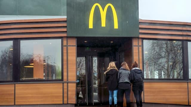McDonald's a enregistré une forte hausse de sa fréquentation au premier trimestre.