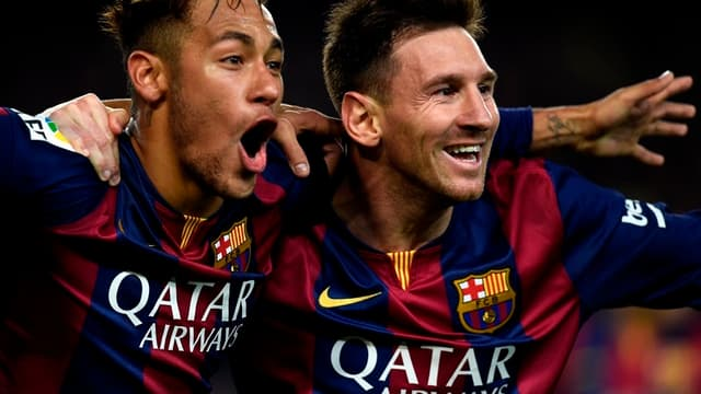 Neymar & Lionel Messi