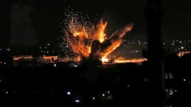 La bande de Gaza, le 12 novembre.