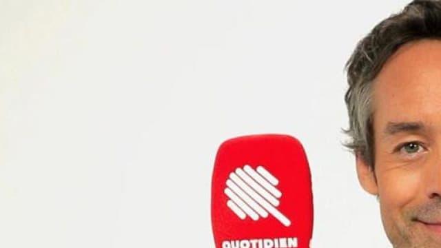 """Yann Barthès sur TMC avec """"Quotidien"""", émission dans l'esprit du """"Petit Journal"""" qu'il animait sur Canal+"""