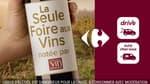 foire aux vins Carrefour