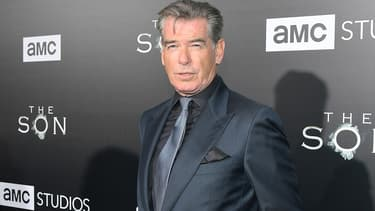 Pierce Brosnan en avril 2017 à Hollywood.