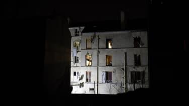L'immeuble de Saint-Denis où est morte Hasna Aïtboulhacen.