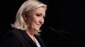Marine Le Pen, présidente du Front national, le 6 décembre 2015.