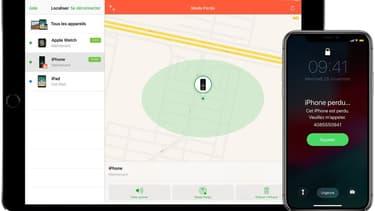 Apple permet de localiser un iPhone perdu ou volé, à condition qu'une option ait été activée.