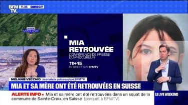 Mia et sa mère retrouvées en Suisse : le point sur la situation - 18/04