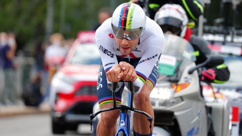 Giro (1ère étape): Ganna survole le chrono et prend le maillot rose