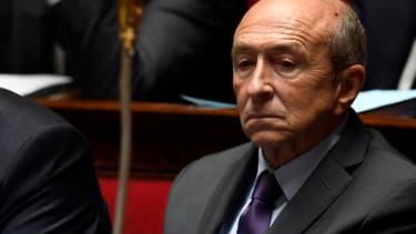 Le ministre de l'Intérieur Gérard Collomb, le 4 octobre 2017 à Paris.