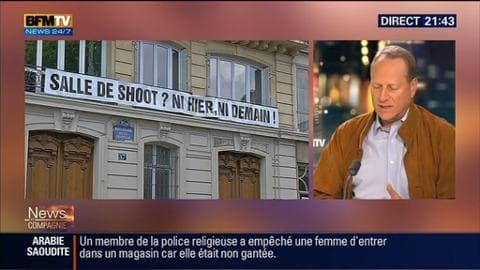 """""""Salle de shoot"""": """"On ne guérit pas quelqu'un qui s'empoisonne en lui injectant son poison"""", a déclaré Philippe Goujon"""