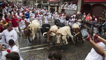 Les fêtes de la San Fermin ont débuté ce samedi dans le nord de l'Espagne.