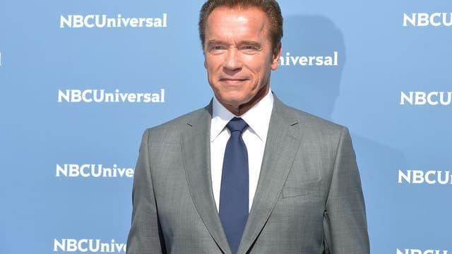 Arnold Schwarzenegger, le 16 mai 2016