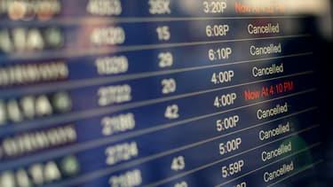 En fin d'année, certains aéroports connaissent de forts retards de vols.
